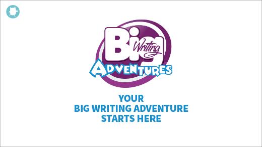 Big writing adventures