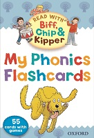 Read With Biff Chip Kipper Phonics Flashcards