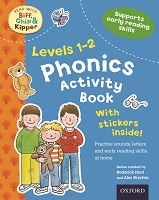 Read With Biff Chip Kipper Phonics Activity Book